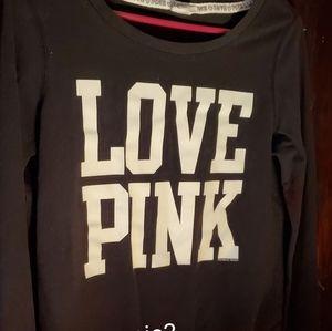 Small Pink Long Sleeve Shirt
